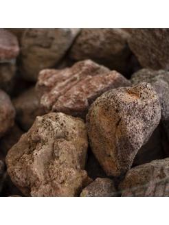Lava Stone - Red (Lumps)