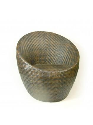 Rattan Egg Bistro Chair
