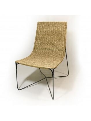 Cane & Metal Chair