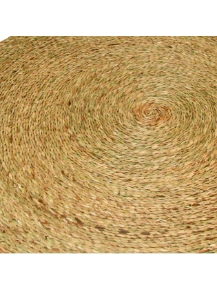 Rattan Floor Carpet - Round Shaped