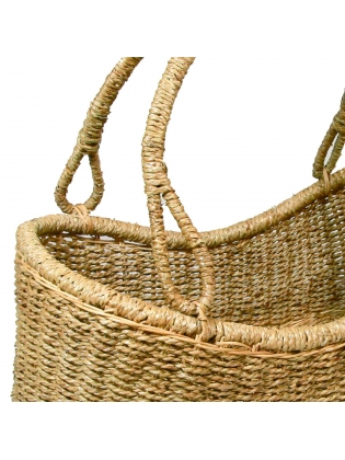 Wicker Basket - Picnic (Oval Curved)