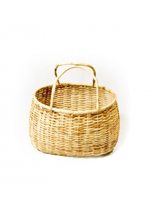 Wicker Basket - Oval Shaped
