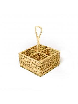 Wicker Bakery Bucket - Rectangle Shaped