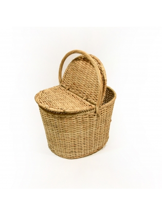 Wicker Basket  - Picnic (Oval)