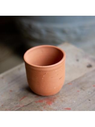 Terracotta Desktop Pot-Cylinder Shaped