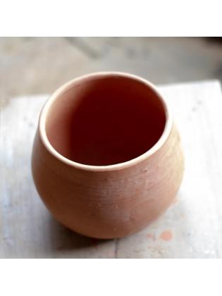 Terracotta Desktop Pot-Bottle Shaped
