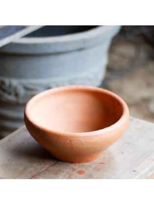 Terracotta Desktop Pot-Circular Bowl Type